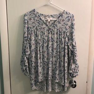 Lauren Conrad Fringe Shirt